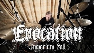 EVOCATION Janne Jaloma - Imperium Fall (Drum Playthrough)