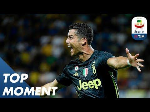 Scrappy Ronaldo Goal Finally Breaks The Deadlock! | Frosinone 0-2 Juventus | Top Moment | Serie A