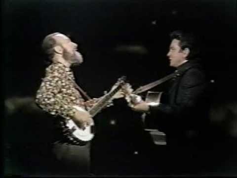 Pete Seeger & Johnny Cash - Worried Man Blues