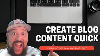Download lagu Write Affiliate Blog Content Quickly in 2021