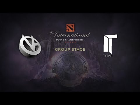 Titan -vs- VG, The International 4, Group Stage, Day 1