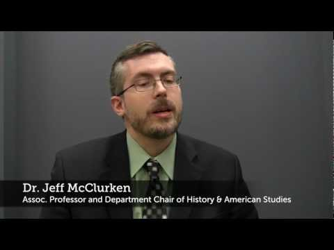 UMW's Jeffrey McClurken: Digital History and Mary Washington's Role