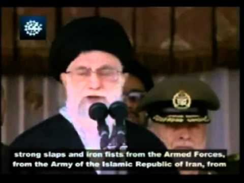 "Iran supreme leader Ali Khamenei: ""...A Response That Will Make Them Collapse From Within!!"""