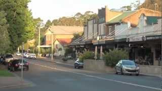 Bundanoon village, NSW, Australia