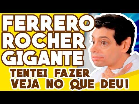 FERRERO ROCHER GIGANTE: TENTEI FAZER E OLHA NO QUE DEU! thumbnail