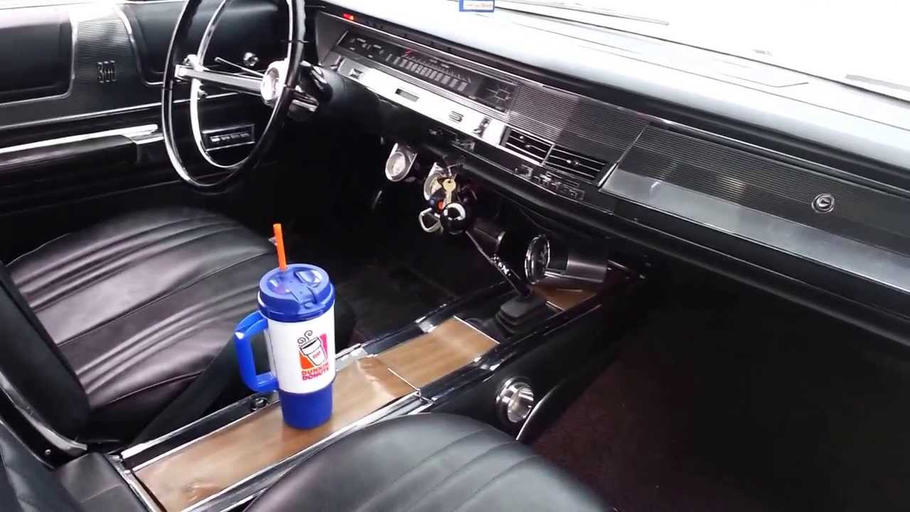 1967 Chrysler 300 Sport Coupe 4 Speed Youtube