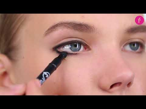 Classic Smokey Eyes (2 minutes)   Applying smokey eye makeup with the pencil eyeliner