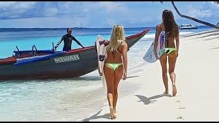 KALOEA Surfer Girls - Destination Mentawai WavePark (4K - Drone)