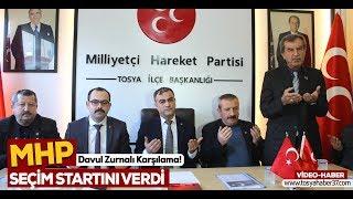 MHP Tosya Teşkilatı aday tanıtım toplantısının ilkini gerçekleştirdi