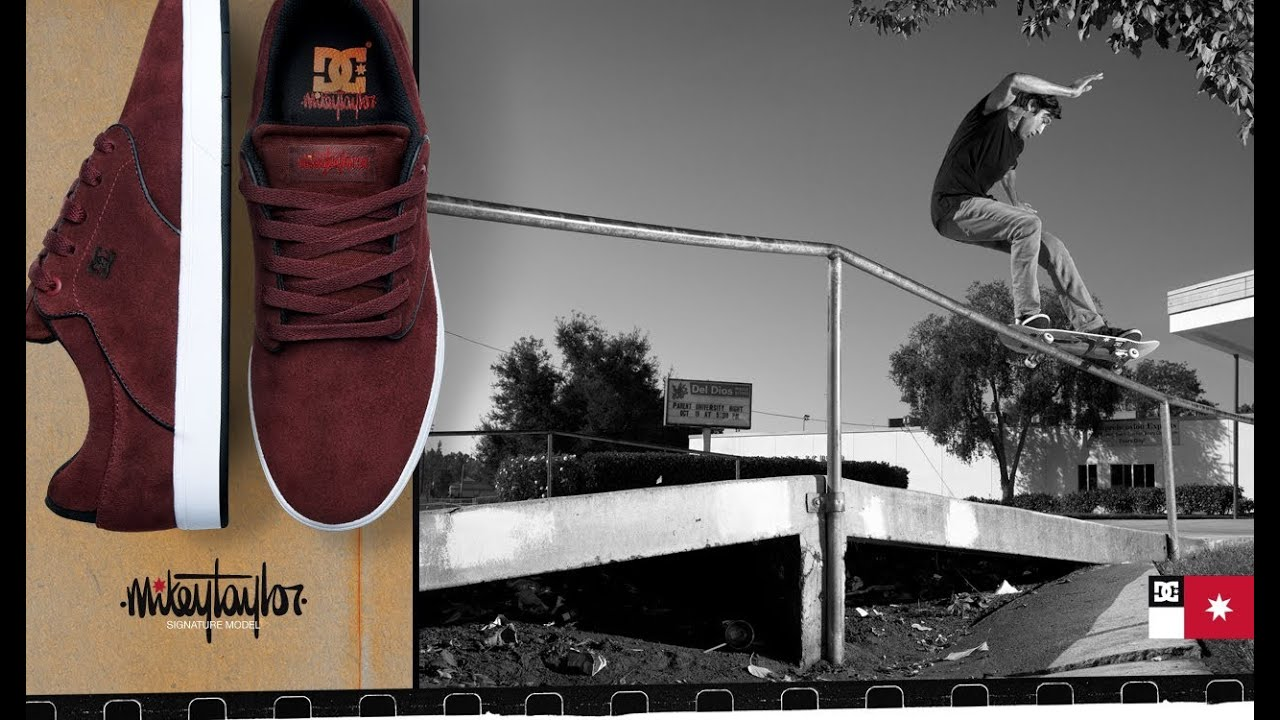 Mikey Taylor Shoe dc Shoes Rediscover Mikey