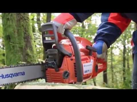 Best Buy Mowers presents...Husqvarna How To Use A Chainsaw - Part 1