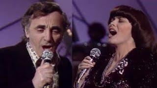 Charles Aznavour Et Mireille Mathieu Une Vie D 39 Amour 1981
