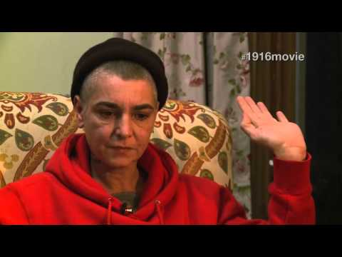 Sinéad O'Connor reads the Irish Proclamation