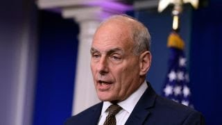 Gen. Kelly delivers emotional speech to address Trump troop controversy