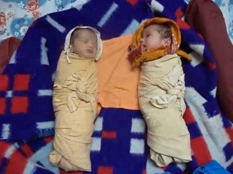 Twin Babies - Laughing Talking Crying Sleeping video