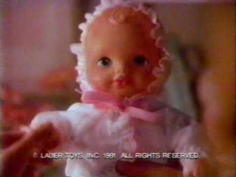 1991 Playmates Waterbabies Doll Commercial Youtube
