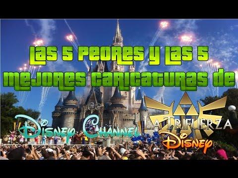 Las 5 Peores y las 5 Mejores Caricaturas de Disney Channel