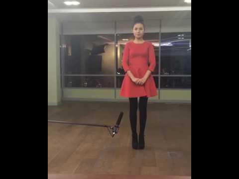 Прикол с кастинга Баян Есентаевои