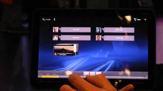 The Motorola Xoom - Android Tablet Demo