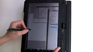 Lenovo ThinkPad X201t Tablet PC Video Review