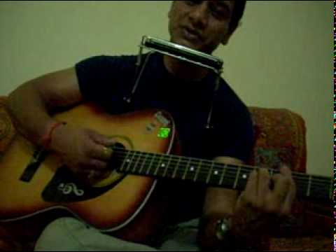 Cover of tumko dekha to ye of Jagjit Singh on acoustic guitar...