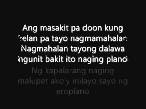 Alaala na lang by:hambog ng sagpro w/lyrics
