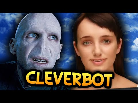 evie Is Voldemort?! - Cleverbot Evie - (funny Moments) video