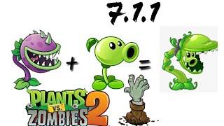 Todas Las Fusiones De Plantas En Plants Vs Zombies 2 - Version 7.1.3
