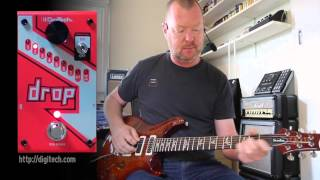 DigiTech: The DROP Polyphonic Drop Tune Pedal