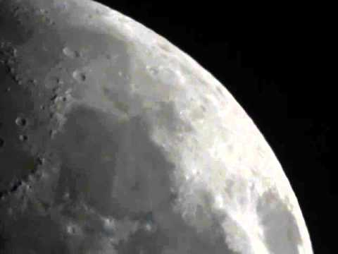 Moon and Saturn from Assalaam Observatory