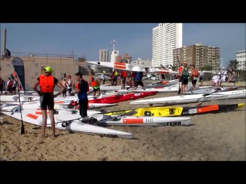 Water Sport City Durban - Surf Ski Paddling Sunday 10-05-2015