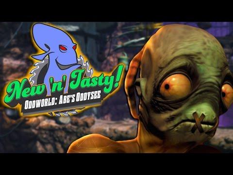 Oddworld: New 'n' Tasty! Abe's Oddysee - THE NOSTALGIA