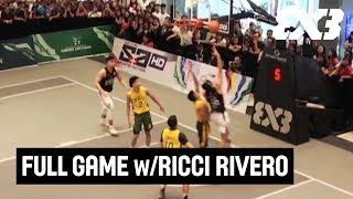 FEU v Ricci Rivero + Juan Gómez de Liaño & UP - Full Game - UAAP 81 3x3 Tournament