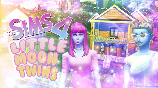 "☽ Sims 4: Little Moon Twins: ""Doll House""  Ep 2 ☾"