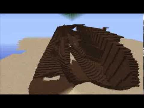 THE WRECK OF THE LUSITANIA IN MINECRAFT - YouTube