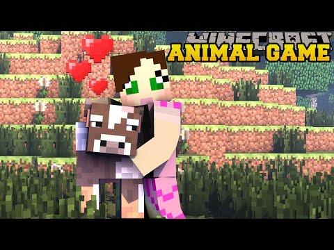 Minecraft: ANIMAL SLAUGHTER GAME! - HEROBRINE'S NEMISIS - Custom Map [2]