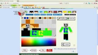 Minecraft skin editor tutorial