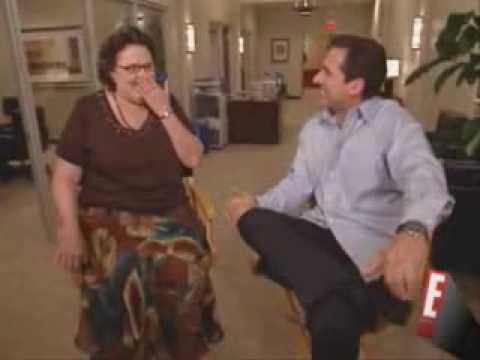 Steve Carell interviews Phyllis Smith (HILARIOUS)