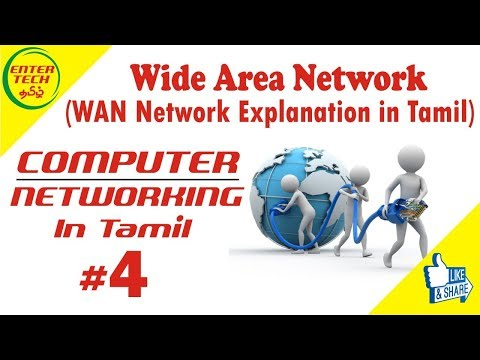 Wide Area Network in Tamil (WAN) | Types Of Network | Computer Networking Course | Entertech Tamil
