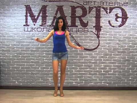 Уроки танца самба - видео