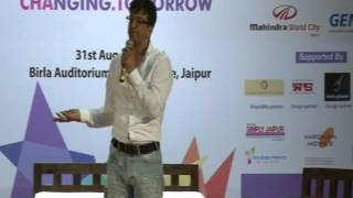 Javed Jaffery on Dhamaal @ ChaT - Changing Tomorrow, Jaipur