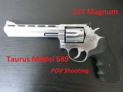 Taurus Model 689 .357 Magnum - POV / FPS Shooting