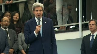 John Kerry says goodbye