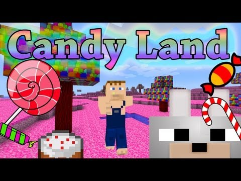 Minecraft Mods - Candy Land Mod 1.2.5 Review and Tutorial