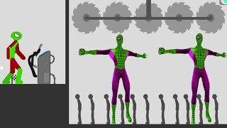 Stickman Backflip Killer 3: HACK Unlimited Coins SPIDERMAN | Killer Mode - Android GamePlay 2018