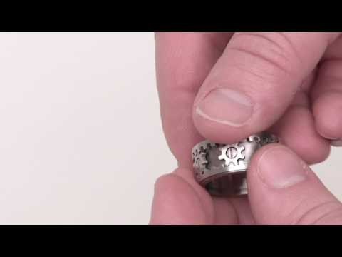 Thumb El Gear Ring, Anillo con Engranajes