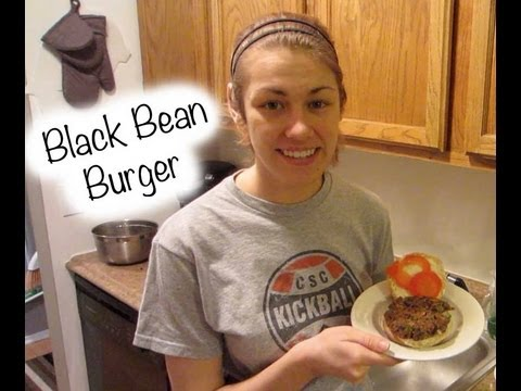 Easy homemade: Black Bean Burger