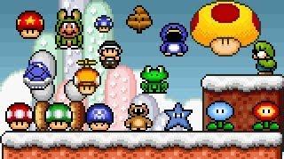 Super Mario Bros X (SMBX 1.4.4) - PowerUps GFX (Custom) . HD