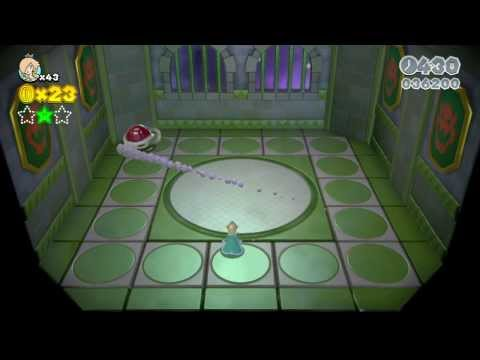 Super Mario 3D World: Boss Blitz level with Rosalina (last Flower World level)