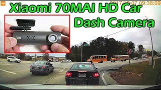 $36 Xiaomi 70MAI HD WiFi Car Dash Camera Review
